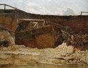 Verfallener Steinbruch