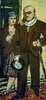 Doppelbildnis, Max Beckmann und Quappi