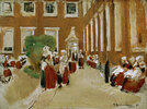 Freistunde im Amsterdamer Waisenhaus