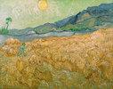 Wheatfield with Reaper, Setting Sun, Saint-Rémy-de-Provence