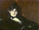 Berthe Morisot, liegend