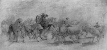Study for The Horse Fair