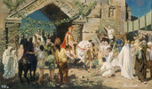 Alexander der Große vor den Toren von Jerusalem