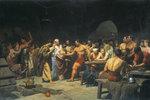 Die Gladiatoren vor dem Kampf