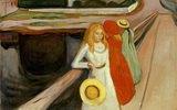 Mädchen auf der Brücke