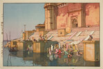 Ghat in Benares