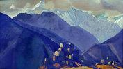 Stranghild. Kloster im Gebirge