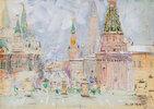 Wintertag in Moskau