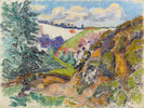 Vallée de la Sédelle à Crozant