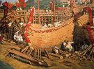 Bau von Schiffen