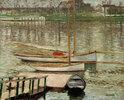 Voiliers au mouillage sur la Seine