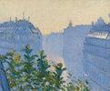Rue Halévy, Blick von einem Balkon