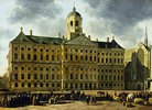 Das Rathaus von Amsterdam