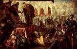 Erhebung des Giovanni Francesco Gonzaga zum Markgrafen von Mantua 1433. Gonzaga-Zyklus I