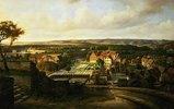 Blick auf Quedlinburg vom Schlossberg