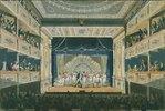 Aufführung von Ferdinand Raimund's Der Bauer als Millionär im Leopoldstäd