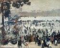 Wintervergnügen im Bois de Boulogne