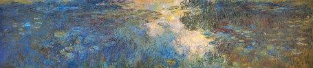 Le bassin aux nymphéas, Triptychon