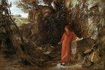 Petrarca an der Quelle von Vaucluse