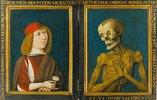 Bildnis des Hieronymus Tschekkenbürlin mit dem Tod. Diptychon