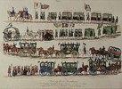 Festzug der 35 Brautpaare anläßlich der Hochzeit des Kronprinzen Maximilian von