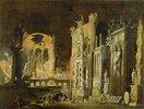 Brand und einstürzende Fassaden