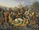 Die Eidgenossen an der Leiche Winkelrieds in der Schlacht bei Sempach