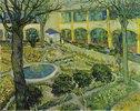 Der Garten des Maison de Santé in Arles