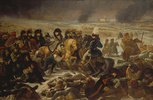 Napoleon auf dem Schlachtfeld von Eylau, 9.Februar 1807. Entstanden