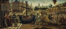 Theseus und das Labyrinth des Minotaurus