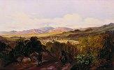 Blick auf Jalapa und den Pico de Orizaba (Mexiko). Anfang 1830-er Jahre