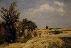 Schnitter im Weizenfeld