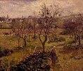Landschaft mit Gemüsegarten bei Eragny