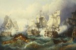 Die Seeschlacht von Trafalgar