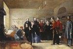 Der erste Besuch Königin Victoria's bei ihren verwundeten Soldaten