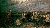Die Hinrichtung ungarischer Offiziere durch die Österreicher in Arad