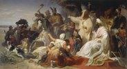Harun al Raschid empfängt die Gesandten Karls des Grossen