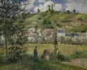 Landschaft um Chaponval