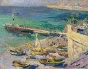 Dampferanlegestelle auf der Krim