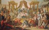 Audienz beim Kaiser von China