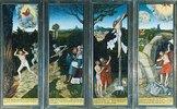 Flügelaltar in St.Wolfgang in Schneeberg (Erzgebirge): Erste Ansicht