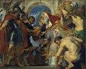 Die Begegnung Abrahams und Melchisedechs