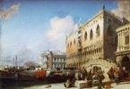 Venedig, Dogenpalast. (o.J.)