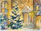 Weihnachtsstimmung am alten Portal