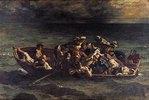 Der Schiffbruch des Don Juan. 1840. (Nach Byron: Don Juan)