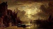 Venedig bei Mondschein. 1861(?)