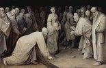 Christus und die Ehebrecherin. 1565 (?)