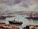 Der Hafen von Algier