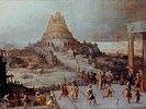 Nimrod befielt den Bau des babylonischen Turmes