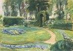 Das Rondell im Heckengarten